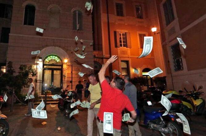 protesta_taxi_uber_parlamentari_22-7-2015_roma_2