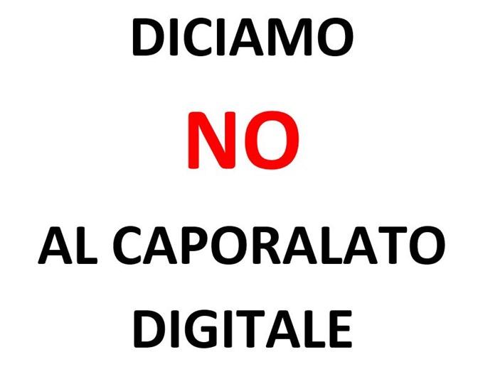no al caporalato digitale
