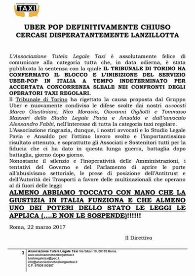 Sentenza Tribunale Torino