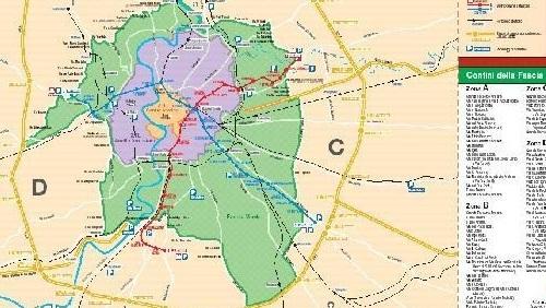 Cartina Della Fascia Verde A Roma.Domenica 18 Novembre Blocco Del Traffico A Roma Per La Domenica Ecologica Taxistory It